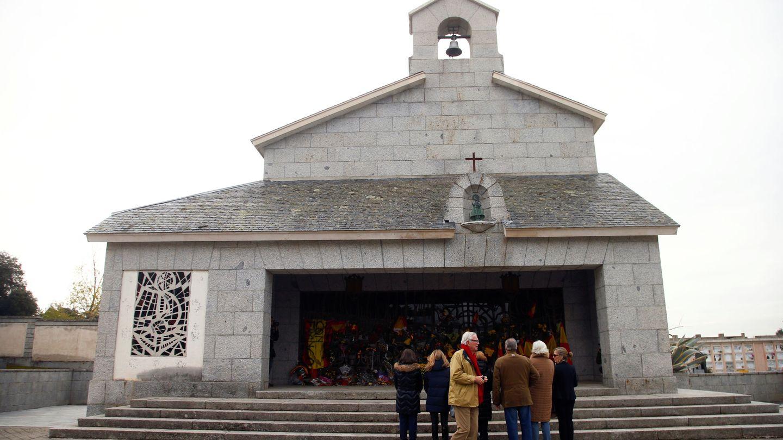 El cementerio de Mingorrubio, donde ahora se encuentran los restos del dictador. (EFE)