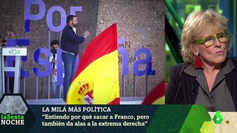 Mercedes Milá, en 'La Sexta noche': No quiero tanta bandera española