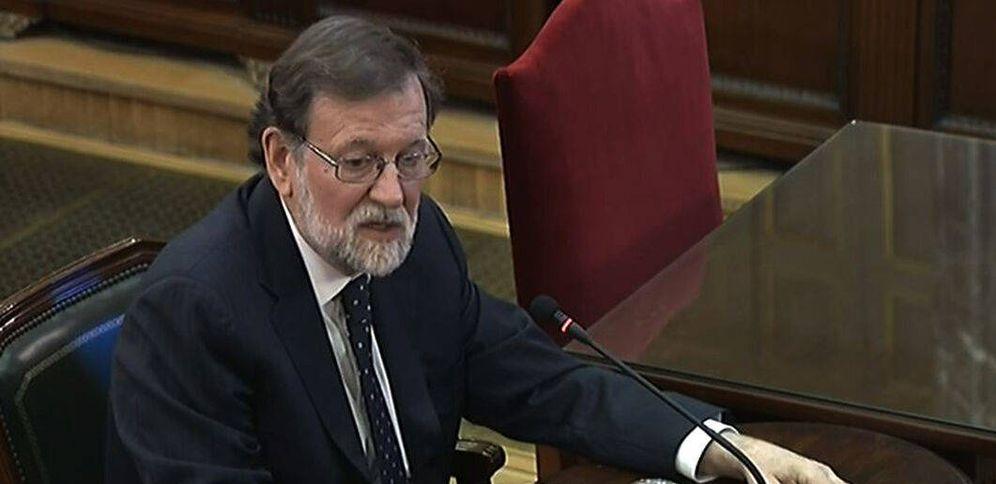 Foto: Rajoy destacó que siempre dejó claro a la Generalitat que en ningún caso negociaría un referéndum.