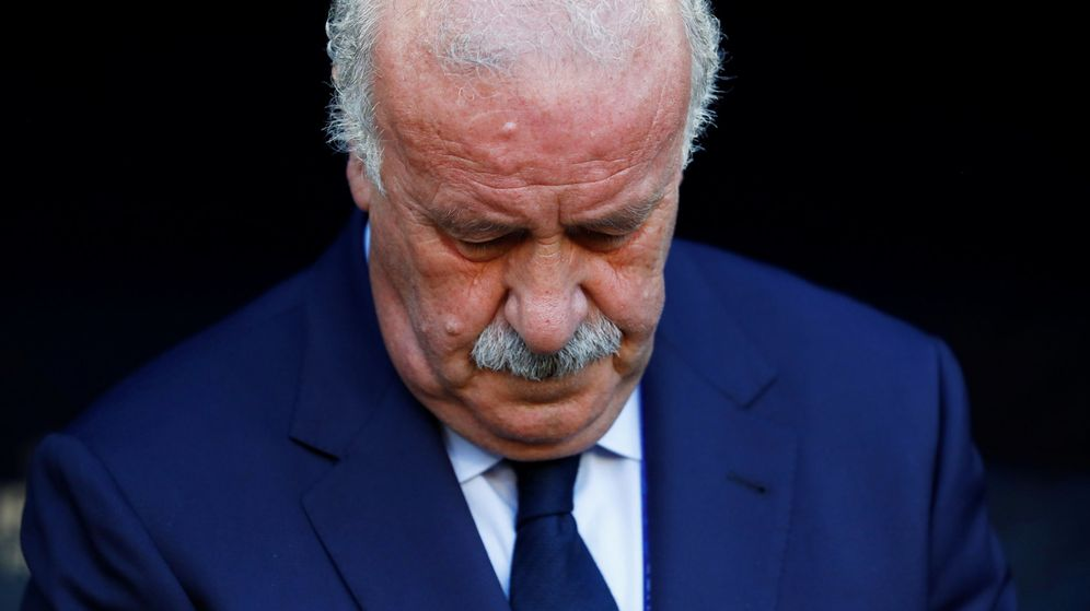 Foto: Vicente del Bosque (Reuters)