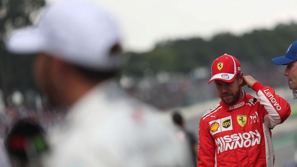 Foto: Sebastian Vettel en el pasado Gran Premio de Brasil. (Reuters)
