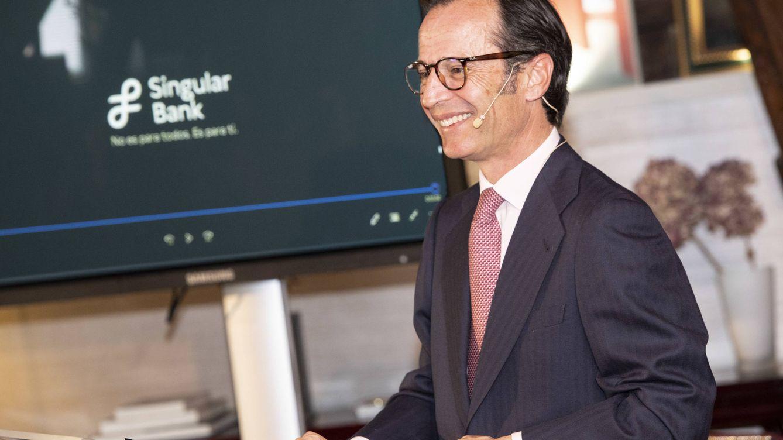 Foto: Javier Marín, consejero delegado de Singular Bank.