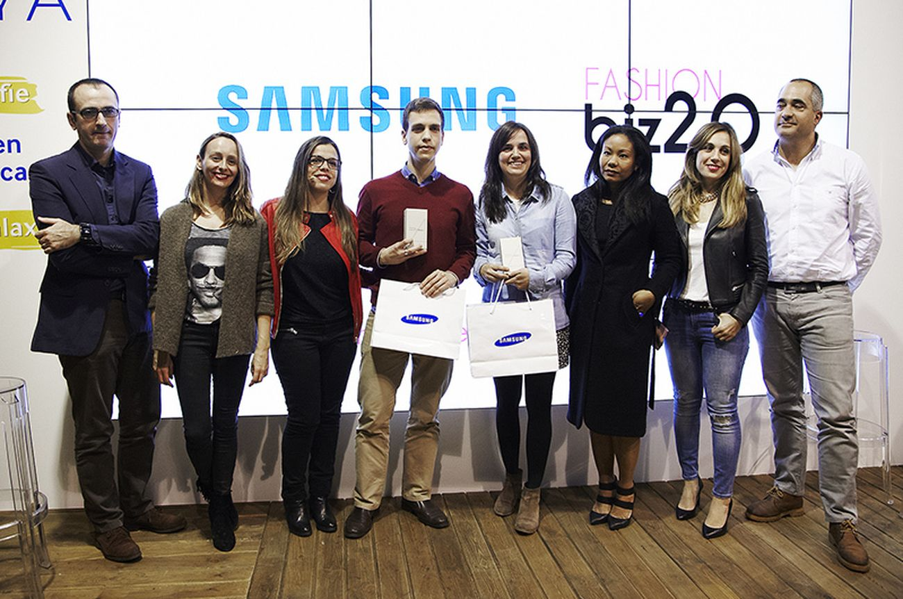 Foto: Samsung entrega los premios Fashionbiz 2.0 Awards en Showroom Samsung EGO