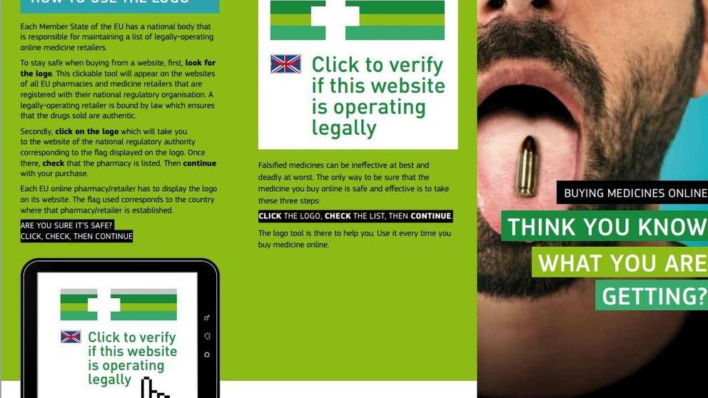 Entra en vigor el logotipo que identifica las farmacias de compra segura online