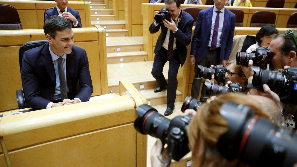 Sánchez debuta en el control: exige al PP la lealtad que tuvo él en la oposición