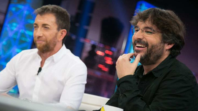 Pablo Motos y Jordi Évole.  (Twitter)