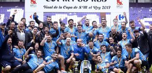 Post de La Santboiana vence al Chami y gana la Copa en otra fiesta del rugby en Zorrilla