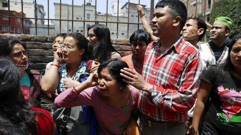 Así fueron los primeros momentos tras el segundo terremoto de Nepal