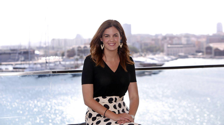 La candidata socialista a la alcaldía de Valencia, Sandra Gómez. (Alberto Sáiz)