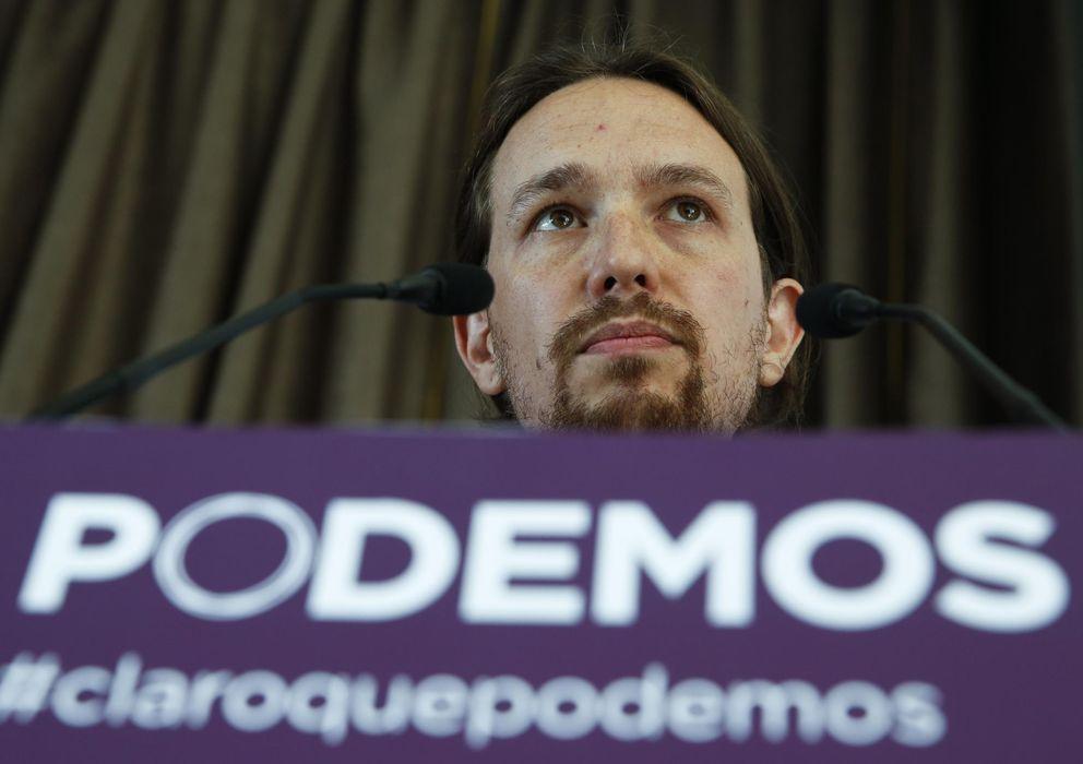 Foto: Pablo Iglesias, fundador de Podemos.