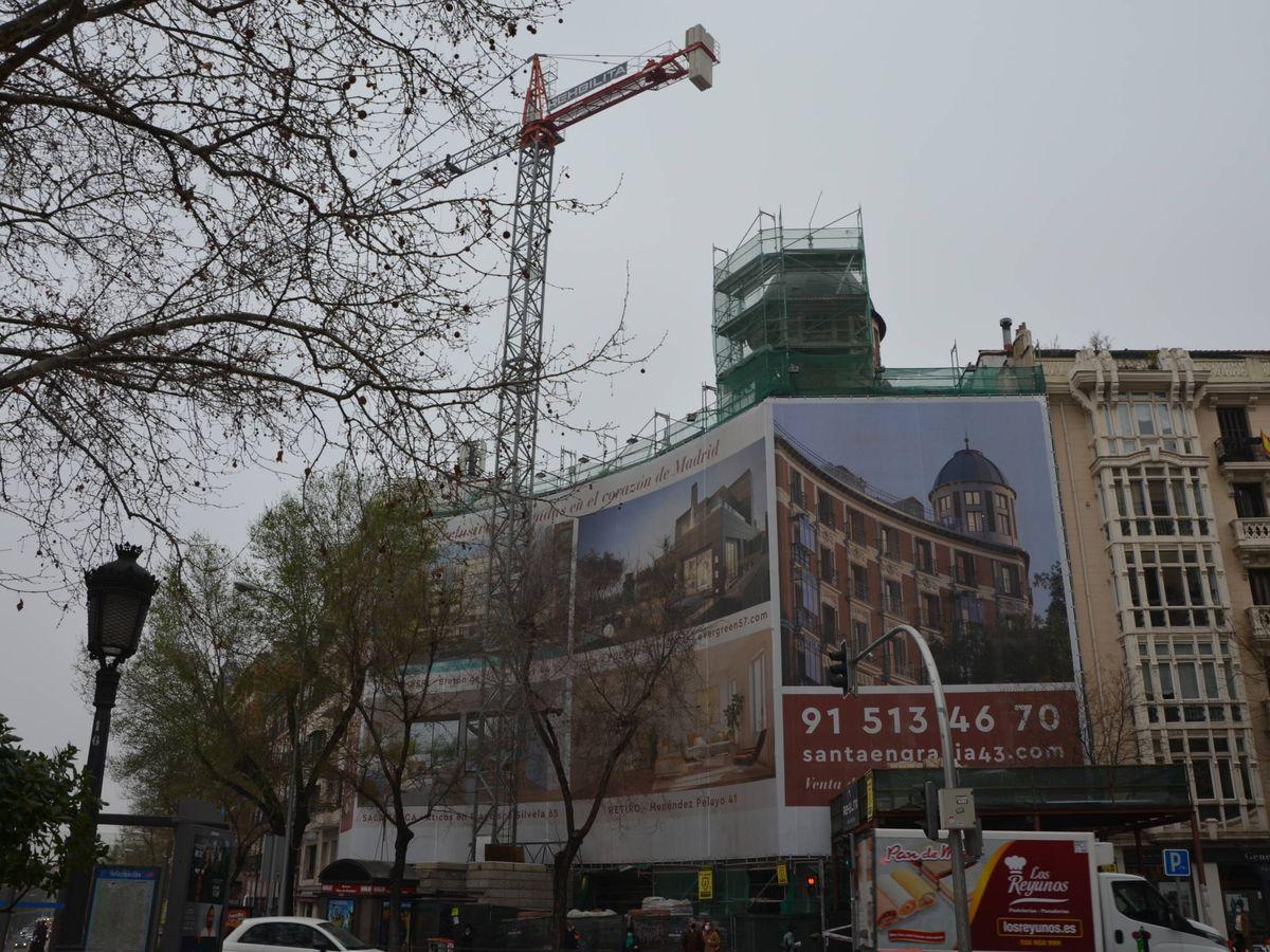Foto: Uno de los proyectos en la calle Santa Engracia.