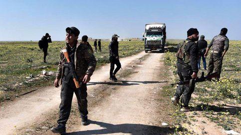 Las fuerzas kurdas controlan un campamento del EI en su último reducto