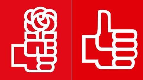 El PSOE cambia su logo: de la rosa del socialismo a un pulgar hacia arriba
