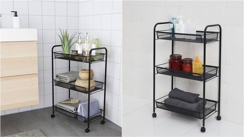Novedades deco de Ikea para un baño ordenado y estiloso. (Cortesía)