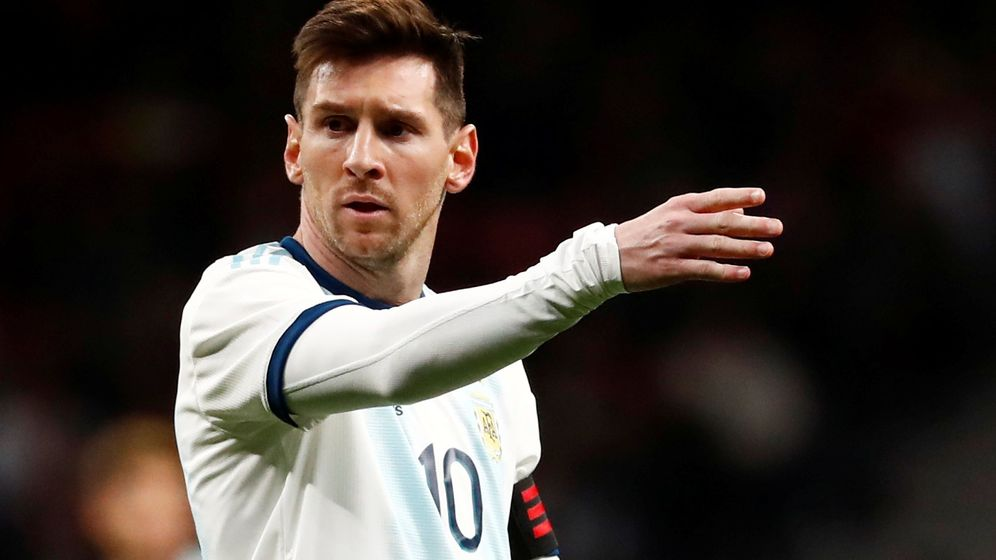 Messi regresó la semana pasada a la selección argentina tras varios meses ausente. (Reuters)
