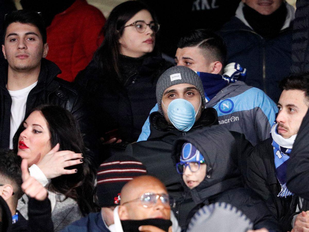 Foto: Partido en el estadio San Polo. (Reuters)