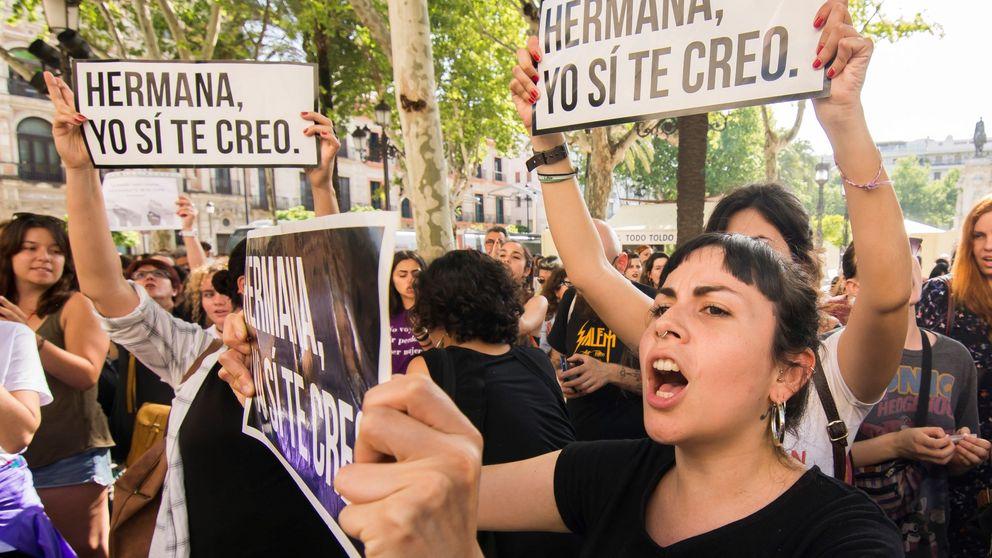 Las imágenes de las protestas contra la sentencia a La Manada