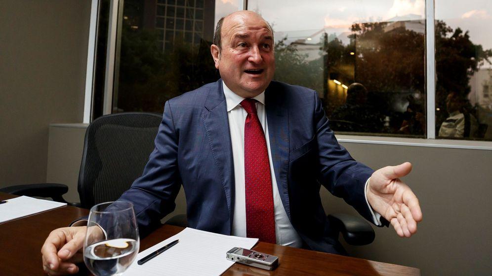 Foto: El presidente del Partido Nacionalista Vasco (PNV), Andoni Ortuzar, en Ciudad de México (México) (EFE)