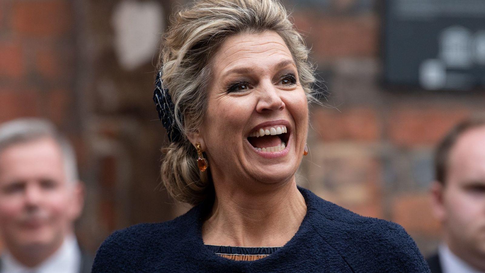 Foto: La reina Máxima de Holanda en Bremen. (EFE)