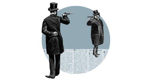 Un duelo a muerte cambió la historia del periodismo, usted puede volver a hacerlo