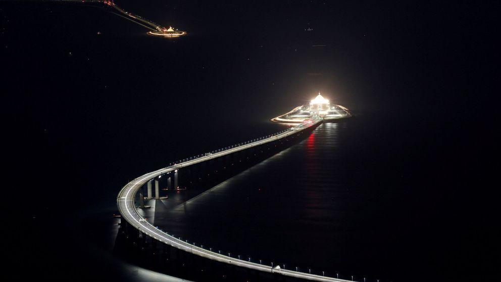 Así es el puente Hong Kong-Zhuhai-Macao