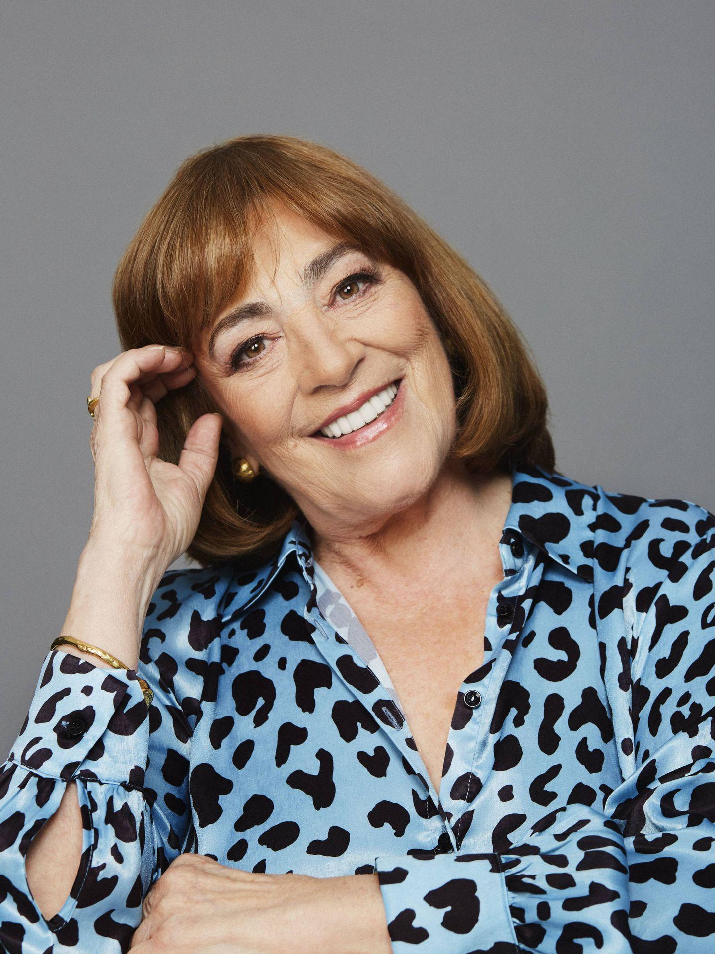 Carmen Maura, en una sesión fotográfica. (Foto: Daniel Rojas)