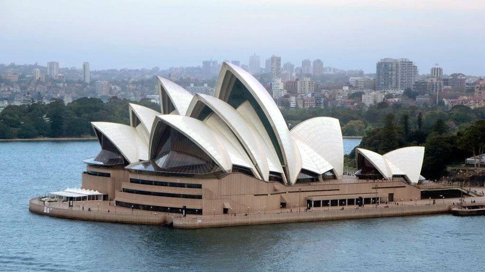 Foto: Imagen de la Ópera de Sydney (Australia)