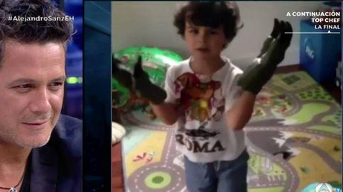 Alejandro Sanz, un padre orgulloso en 'El hormiguero': Mi hijo sabe 5 idiomas