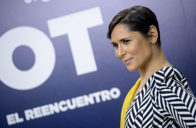 Foto: Rosa López en la presentación de los documentales de 'OT' (Gtres)