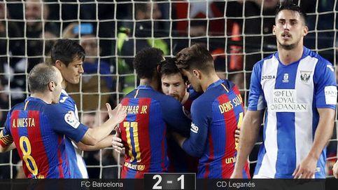Cuando ganar vale de poco: el peor Barça agudiza su crisis contra el Leganés