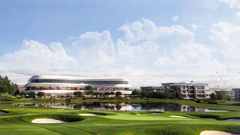 Recreación del futuro centro comercial.