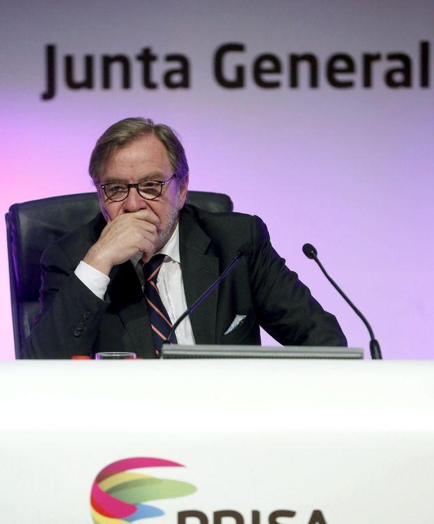 Foto: Juan Luis Cebrián, presidente del grupo Prisa (EFE).