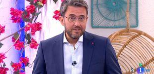 Post de Huerta confiesa en su vuelta a TVE por qué ocultó a Sánchez su sociedad
