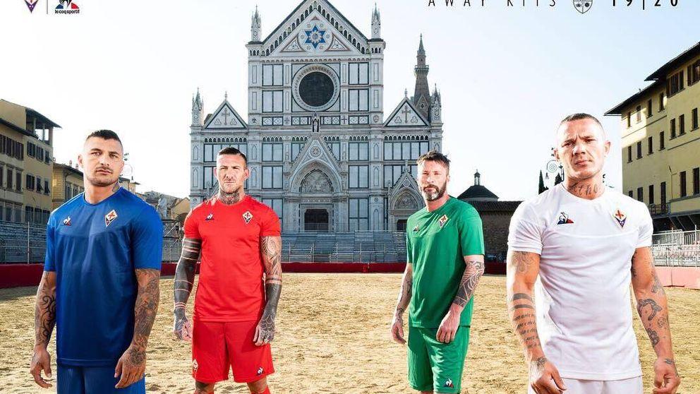 El porqué de las cuatro equipaciones visitantes de la Fiorentina
