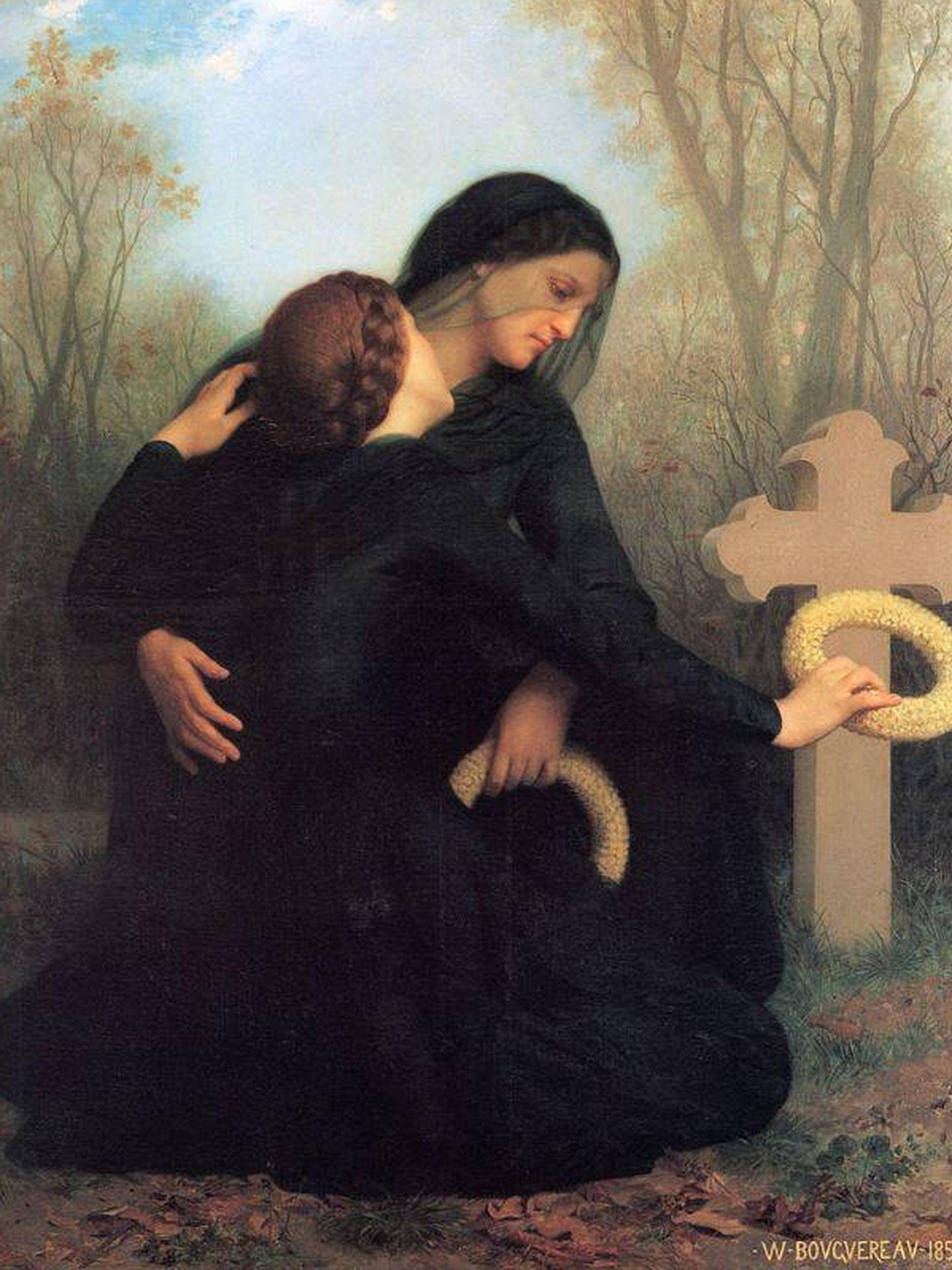 'El día de los muertos', de William-Adolphe Bouguereau, 1859. (C.C.)