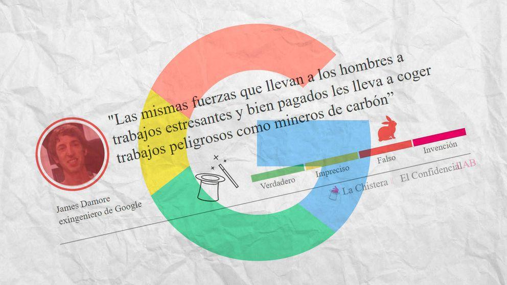 Verdades y mentiras del manifiesto que le costó el puesto al ingeniero de Google
