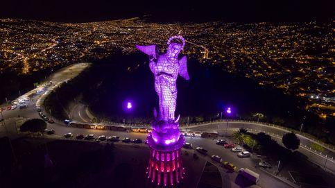 La Virgen del Panecillo de Quito y los campos holandeses: el día en fotos