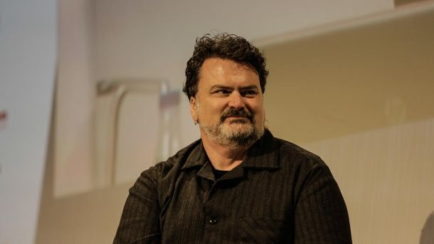 Foto: Tim Schafer durante su intervención en el Fun