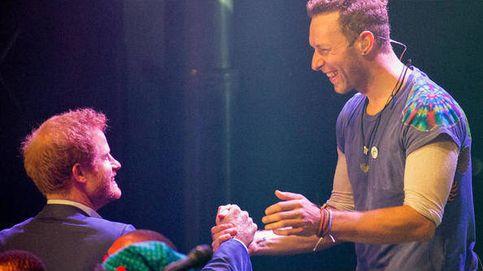 El príncipe Harry le roba protagonismo a Coldplay en pleno concierto