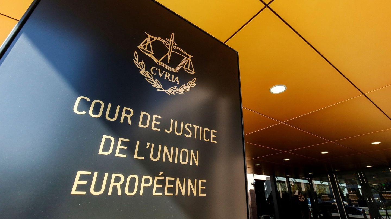 Entrada del Tribunal de Justicia de la Unión Europea en Luxemburgo. (EFE)