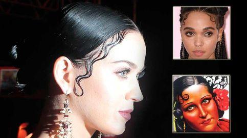 Katy Perry y el peinado que imita al de una rapera y una folclórica.