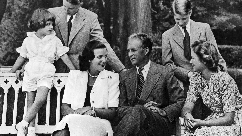 La familia real belga, asidua también a Pregny, en una foto de archivo. (EFE)
