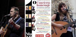 Post de Rozalén, Ismael Serrano... dos conciertos por el Día del Trabajo desde las redes sociales