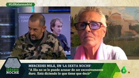 Mercedes Milá, a la yugular del doctor Cavadas por criticar a Fernando Simón