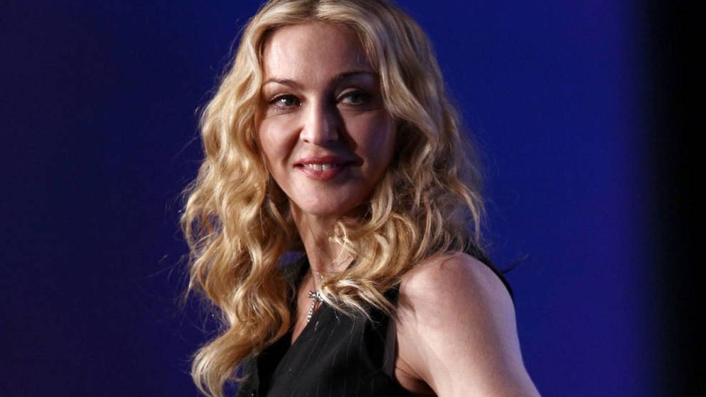 Foto:  Madonna, liándola. (Getty)