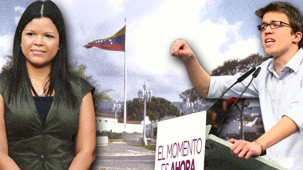 La 'niña mimada' de Hugo Chávez 'le pone ojitos' a Íñigo Errejón