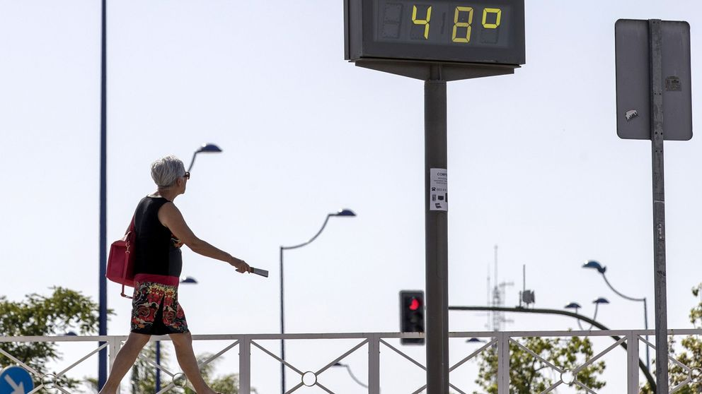 Llega la primera ola de calor del verano: más de 40ºC  y tormentas en el norte