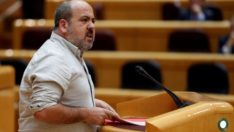 Un senador de Podemos no irá al Congreso por el perfil independentista de la lista