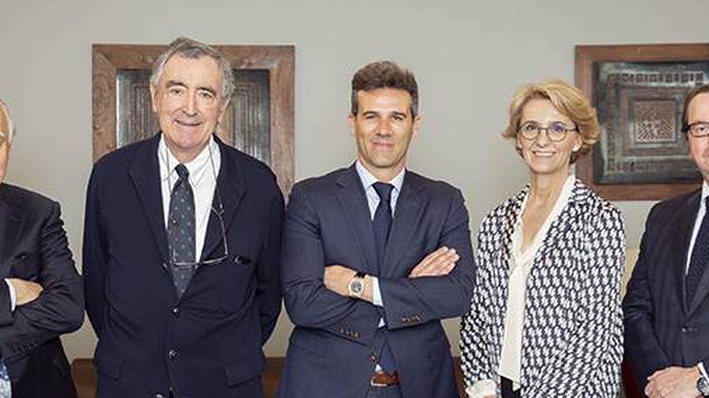 Consejo de administración de Millenium: Jaime Montalvo, José María Castellano, Javier Illán, Isabel Dutihl y Remigio Iglesias.