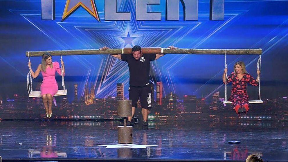 El 'hombre más fuerte de España' sorprende en el último 'Got Talent'